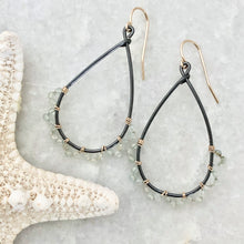 Sausalito Jasmine Hoop Earrings