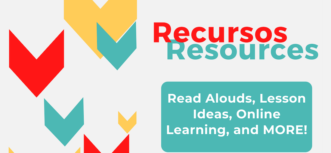 image says Recursos Resources