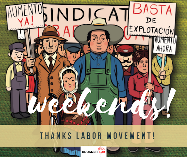 Thanks Labor Movement poster