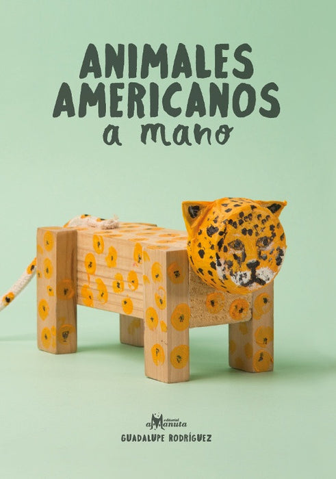 Book cover depicting a wooden home made jaguar. Large image