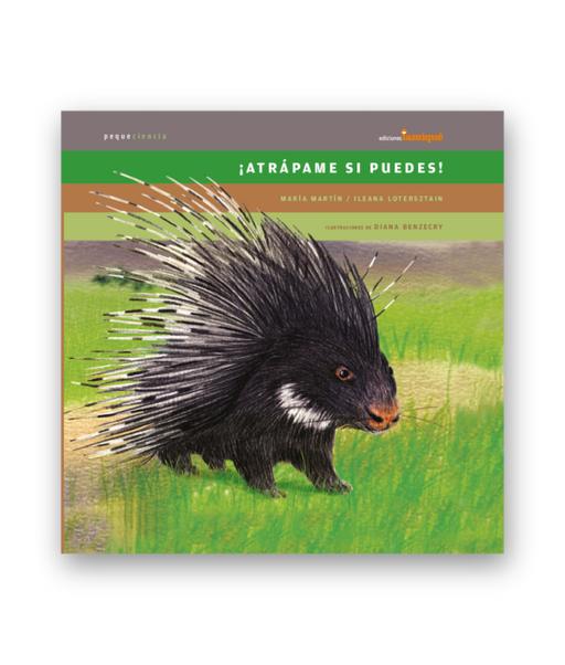 book cover illustrates a porcupine in grass