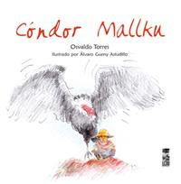 book cover depicting an illustration of a Condor with a kid by his side