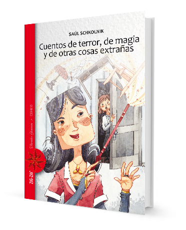 Book cover has a drawing of a maid cleaning with a duster