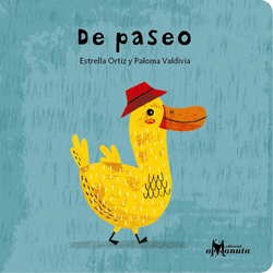 book cover depicting a yellow duck with a red hat