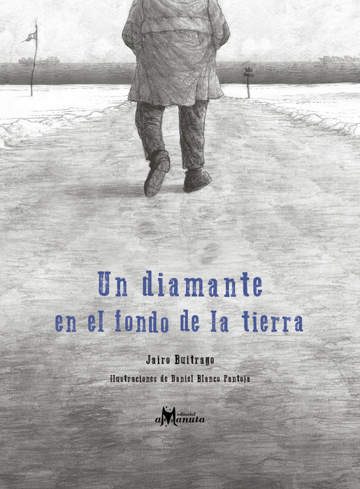 book cover illustrates a person walking on a path