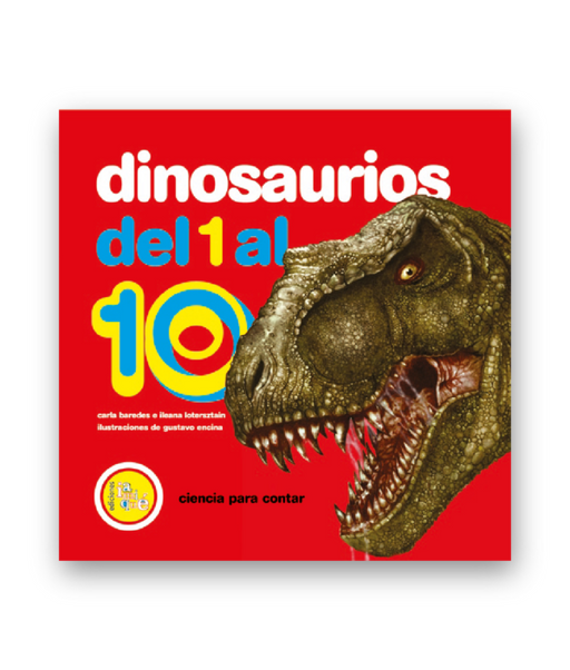 Book cover depicts a big T-Rex head with open jaws