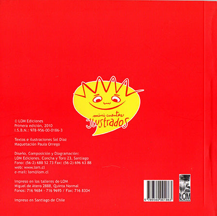 back cover is red with a sun logo