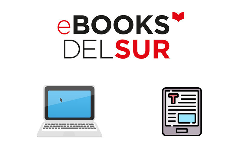 Ebooks del sur logo and icons