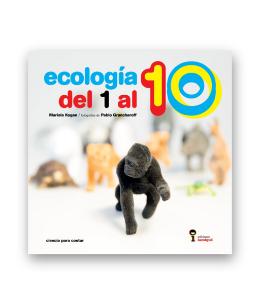 Book cover depicts photo of a toy gorilla