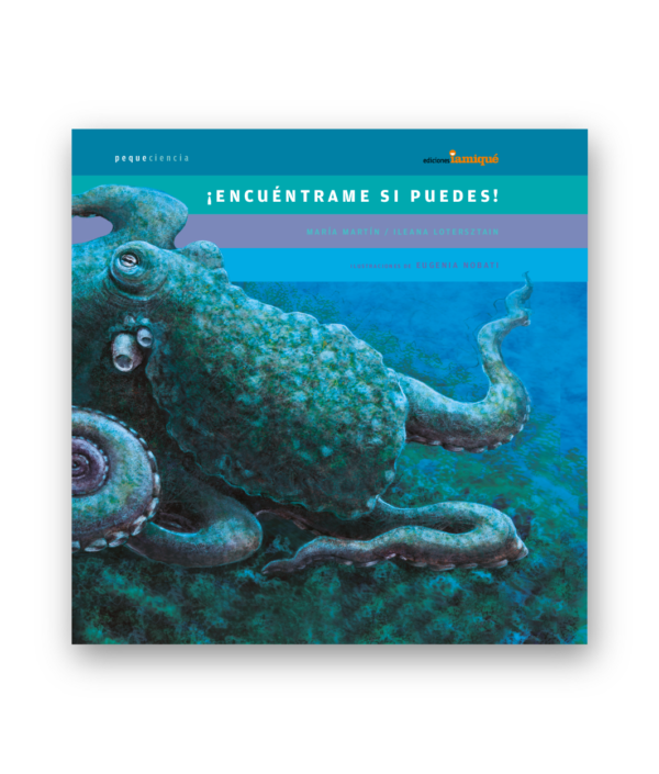 book cover illustrates an octopus in water