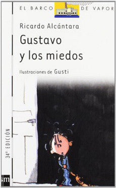 book cover with illustration of a little kid looking scared