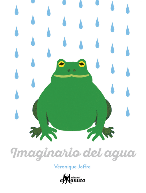 book cover illustrates frog in the rain