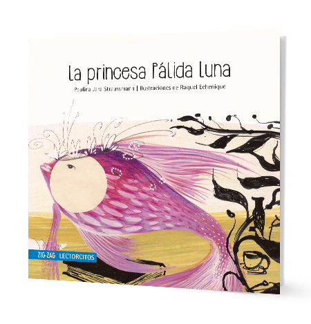 book cover illustrates a pink fish