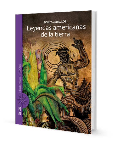 book cover illustrates a man with corn.