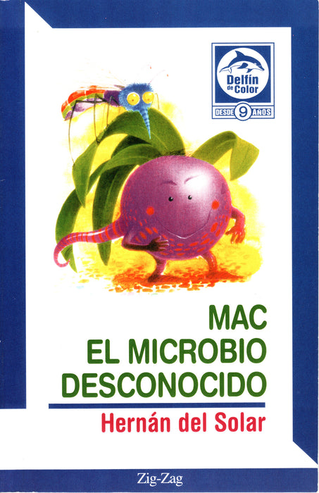 book cover illustrates a mosquito and a plant