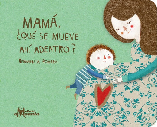 book cover illustrates a mom and a child