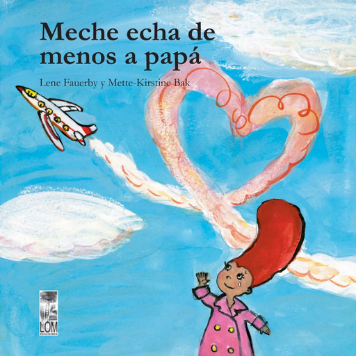 book cover illustrates an airplane and Meche