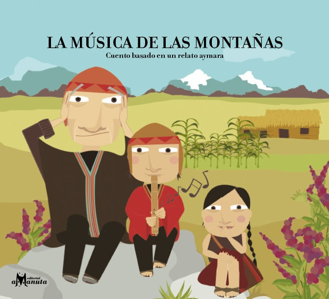 book cover illustrates a family playing music