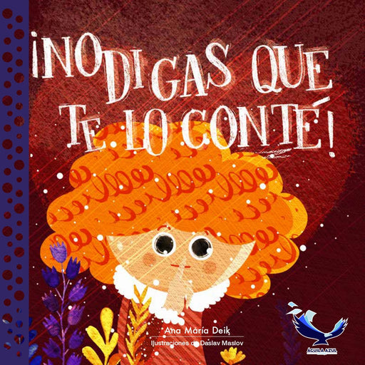 book cover illustrates a child with orange hair