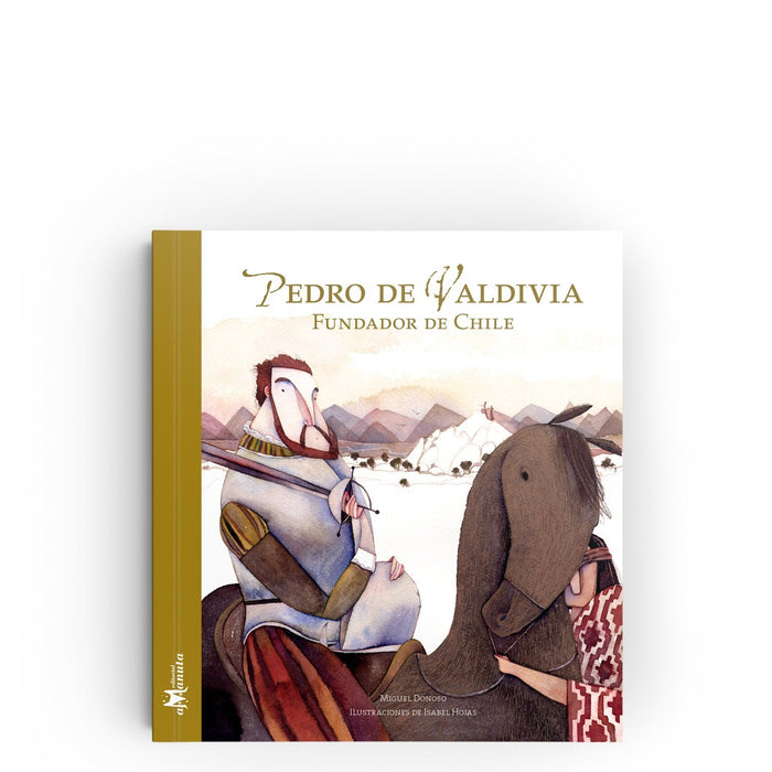 book cover illustrates Pedro on a horse