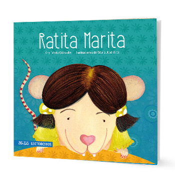 book cover illustrates a rat, Marita
