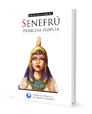 book cover illustrates Senefru