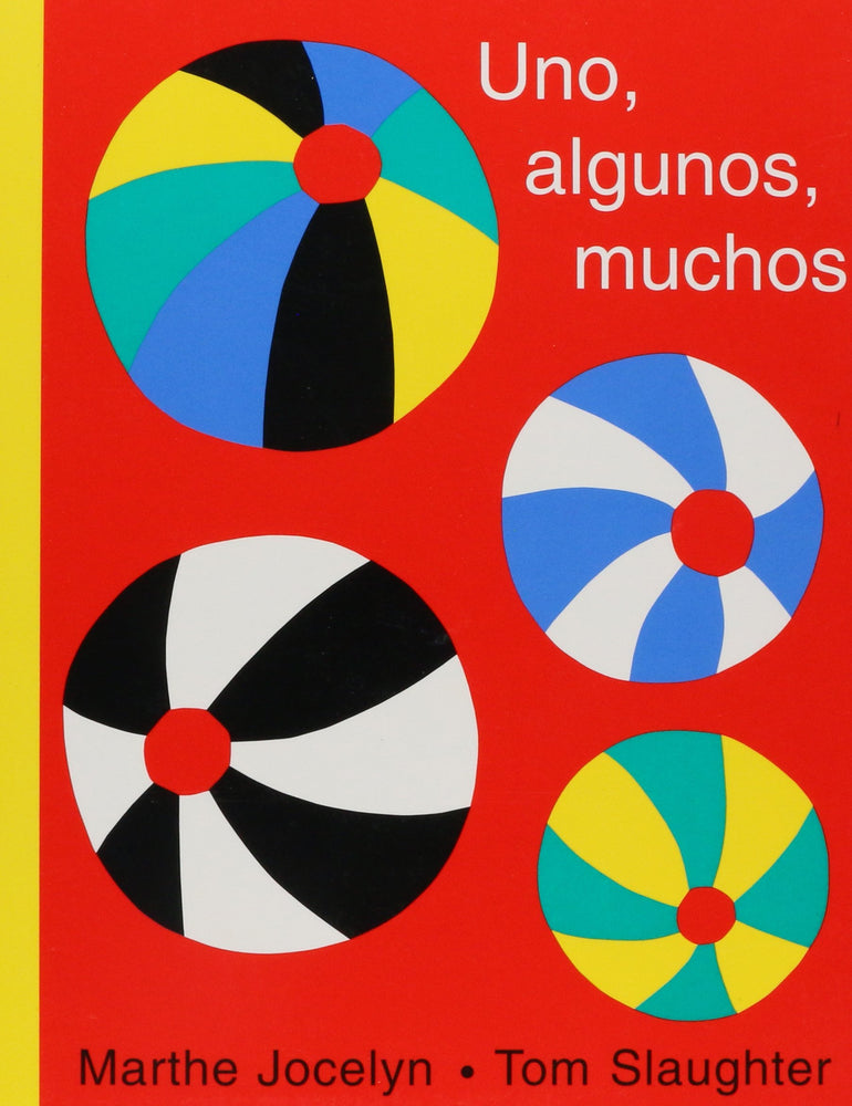 book cover illustrates different colored balls