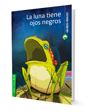 book cover illustrates a frog