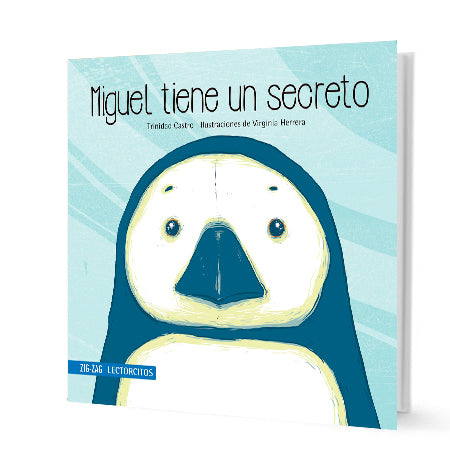 book cover illustrates a penguin