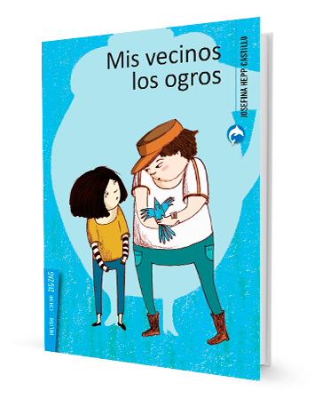 book cover illustrates two people