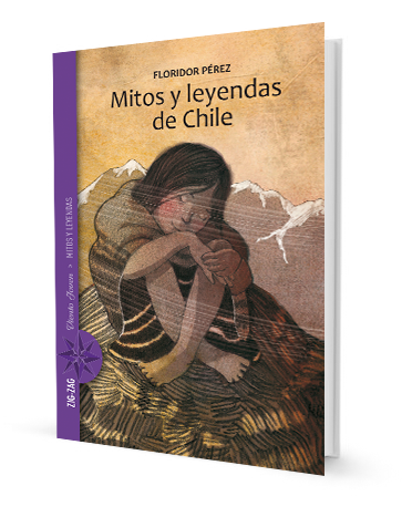 book cover illustrates a person in a blanket