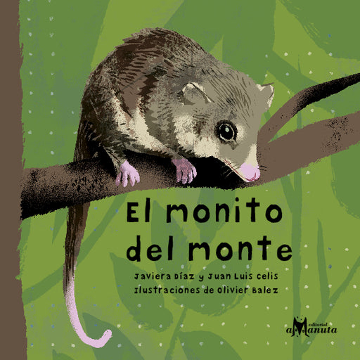 book cover shows an animal on a branch