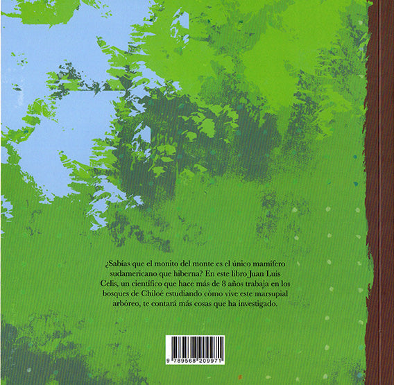 back cover shows green leaves