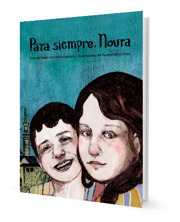book cover illustrates a boy and a girl