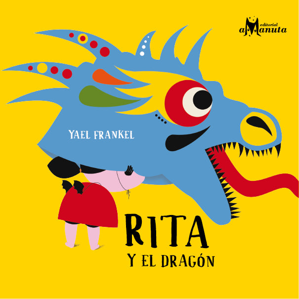 book cover illustrates Rita in a dragon mask