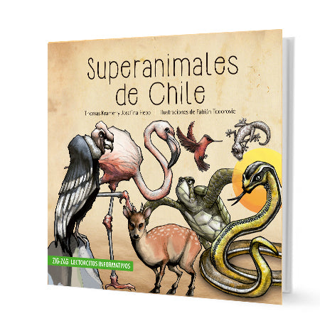 book cover illustrates different animals