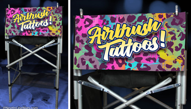 Animal Print V.1 - Airbrush Tattoos - 12x24