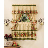 Achim Home Furnishings Apple Orchard Cottage Set, 24-Inch, Antique