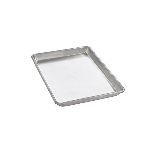 Mrs. Anderson's Baking Heavyweight Quarter Sheet Baking Pan, Commercial Grade 19-Gauge Aluminum, 9.5-Inches x 13-Inches