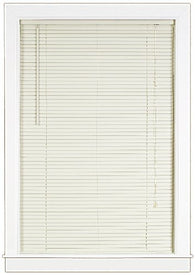 Achim Home Furnishings Deluxe Sundown 1-Inch Blind, 43-Inch by 64-Inch, Alabaster