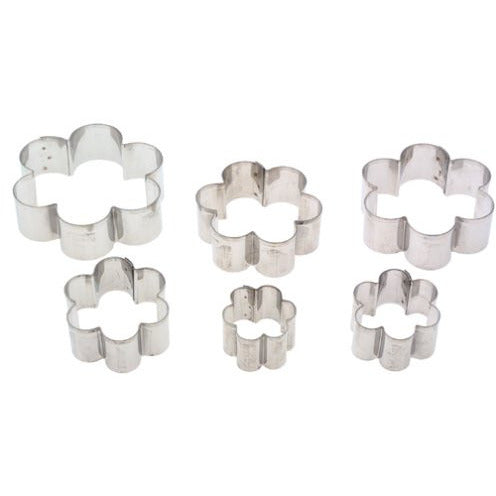 Ateco Graduated Daisy Cookie Cutters, Set of 6