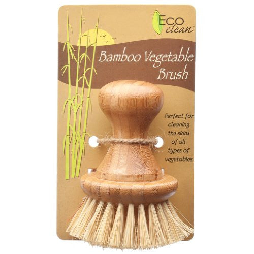 Lola Eco Clean Bamboo and Tampico Vegetable Brush