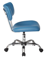 Ave Six ST181-U7-osp Vista Task Office Chair, Blue
