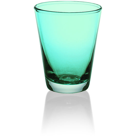 Majestic Gifts Quality Glass Water Glass 8.6oz. turquoise