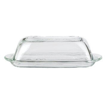 Anchor Hocking 64190A Presence Butter Dish with Cover (Case of 6)