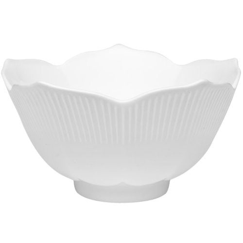 HIC 42-ounce Porcelain Lotus Bowl 8-inch