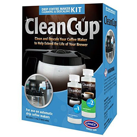 CleanCup Single Serve Coffee Machine Cleaning & Descaling Kit