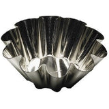 "Browne (80193750) 3-1/2"" Fluted Brioche Mould"