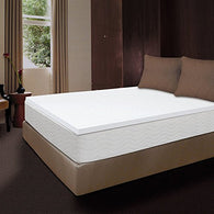 1 1/2 inch Memory Foam Mattress Topper, QUEEN