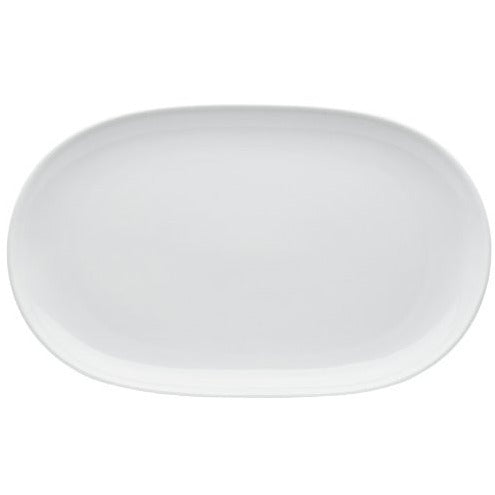 HIC Porcelain Oval Platter 14.25- by 9.5-inch